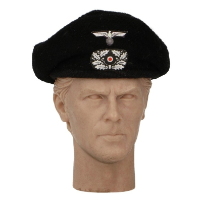Early Panzer Heer Beret (Black)