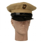 USMC Summer Dress Visor Cap (Beige)