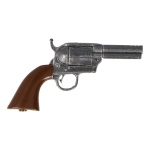 Short Barrel Single Action Army Colt Revolver (Grey)