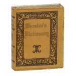 Merster's Dictionary Book (Brown)