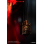 Diecast LED Light Up Dracula Red lamp (Bronze)