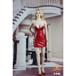 Sexy Lady Paint Skirt Set (Red)