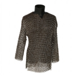 Diecast Worn Chain Mail Hauberk (Grey)