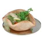 Vegatables Taco with Diecast Plate (Beige)