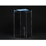LED Light Up Display Case (Transparent)