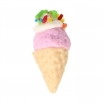 Strawberry Ice Cream Cone (Pink)