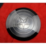 Diecast Captain Star Shield (Silver)