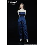 Female Conjoined Skirt Set (Blue)