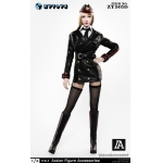Sexy Military Uniform Set (Black)