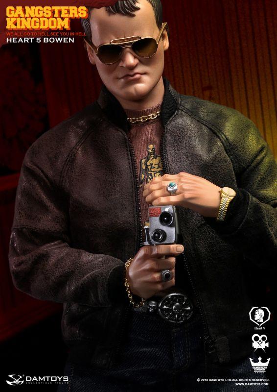 damtoys gangster kingdom heart 4 Vincent 4 hand lot 1//6  bbi Soldier toys Dam