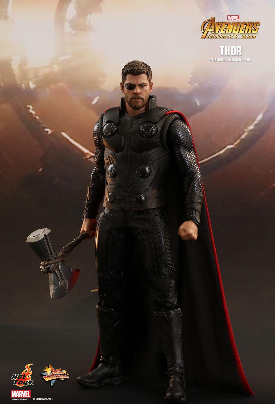 avengers : infinity war - thor - machinegun