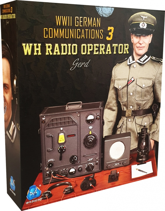 Hands for DID D80133 WWII German Communications 3 WH Radio Operator 1//6 Scale