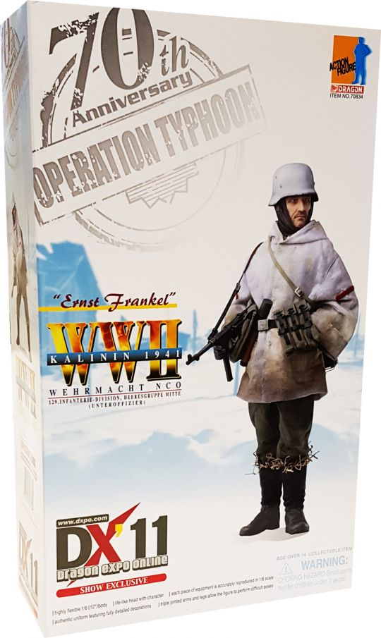 1//6 Scale Ernst Frankel DX11 Uniform w// Insignia Set Dragon Action Figures